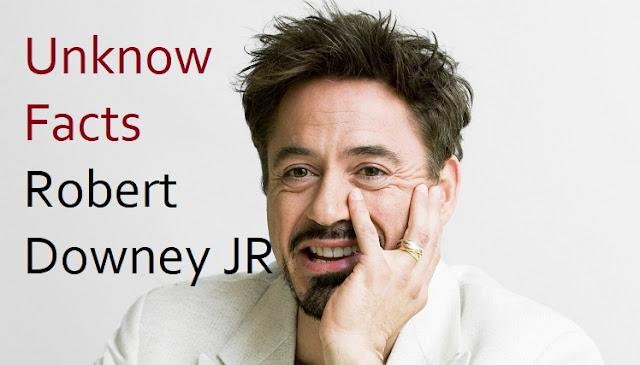 Robert Downey Jr Iron Facts