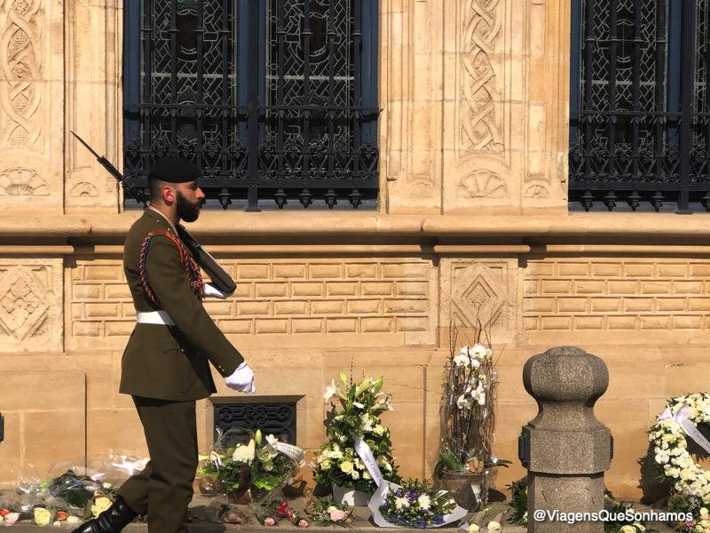 Troca de guarda em Luxemburgo