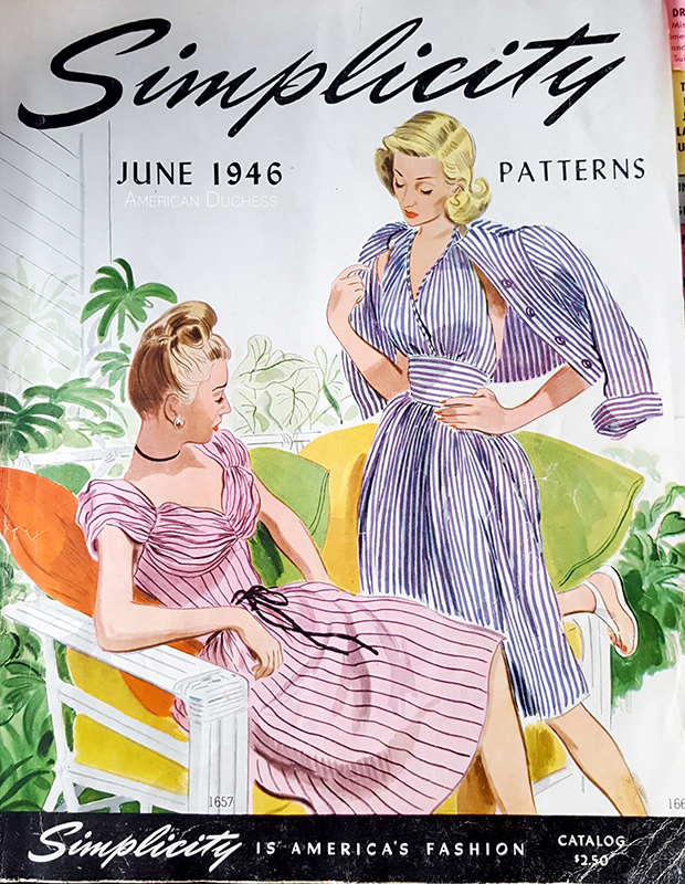 Simplicity Pattern Catalog, June 1946
