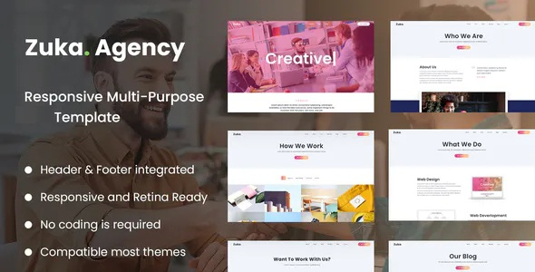 Best Creative Portfolio and Agency Template Kit