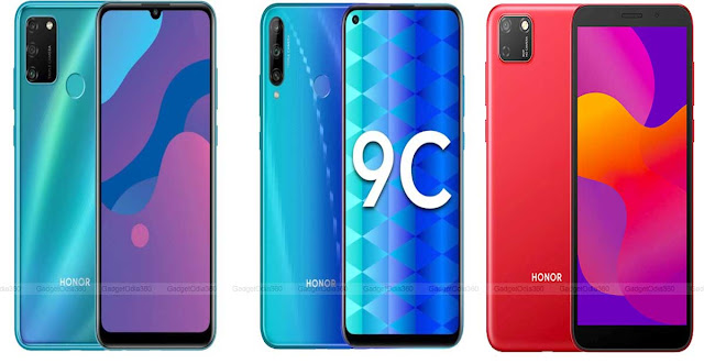 Honor 9C, Honor 9A, Honor 9S