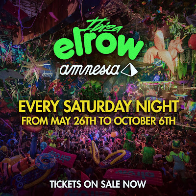 BARCELONA, January 30th .-  After Amnesia and elrow's first and unforgettable year working together, the two brands are excited to announce that this season they're going to be doing it all over again.