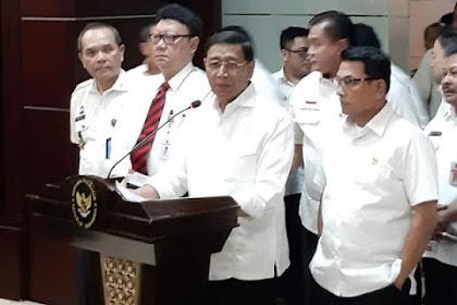 Wiranto Sebut Tim Pencari Fakta Kecurangan Pemilu Tidak Perlu
