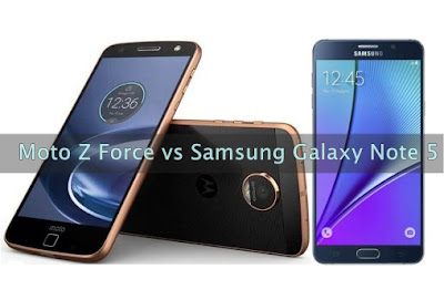 Specifications and features  Comparison  Moto Z Force vs Samsung Galaxy Note 5 –