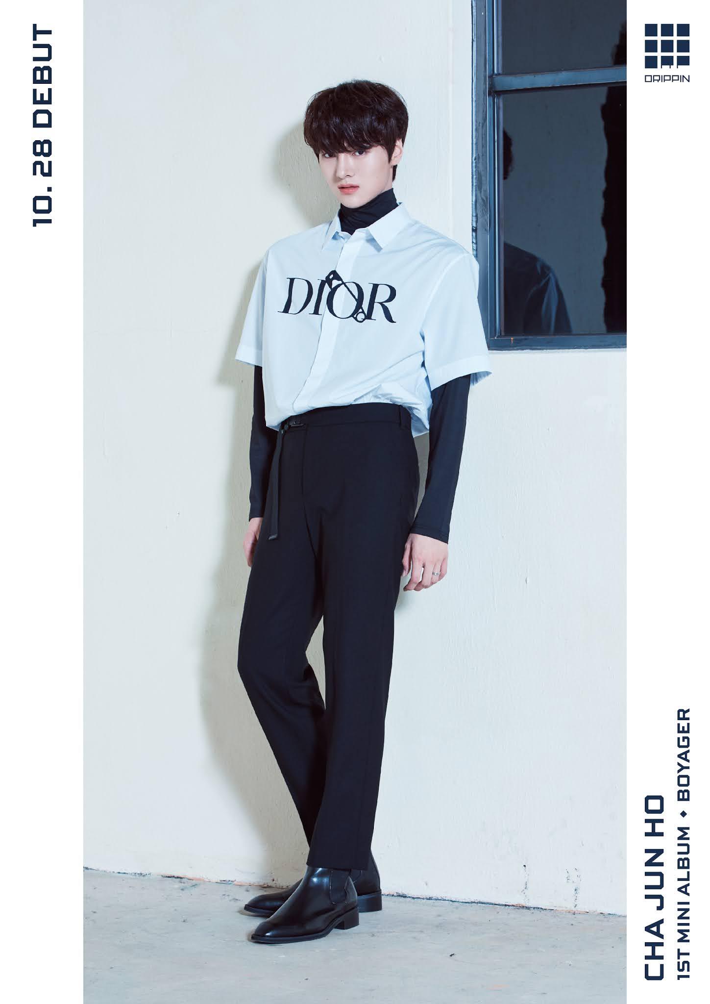 DRIPPIN 1st Mini Album [Boyager] Concept Photo (B ver.)