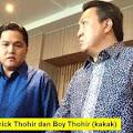 Iris Tipis-tipis... Erick Thohir dan Sang Kakak, Apakah Jokowi Tidak Tahu atau Malah Menikmati?