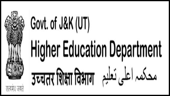 [J&K] Higher Education Department Recruitment Process 2021  Apply Online for Lecturer, Teaching Assistant Posts