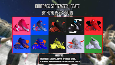 PES 2017 Bootpack September 2020 by FuyuPES17 Boots