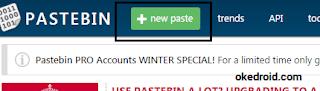 New Pastebin