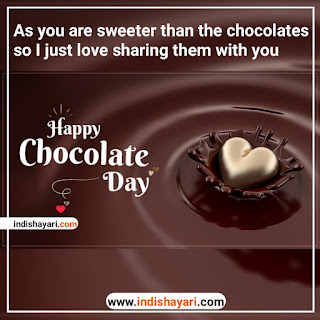 Happy Chocolate Day whishes greetings sms quotes for whatsapp Facebook Instagram status