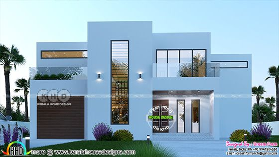 5 BHK modern contemporary house 3688 sq-ft