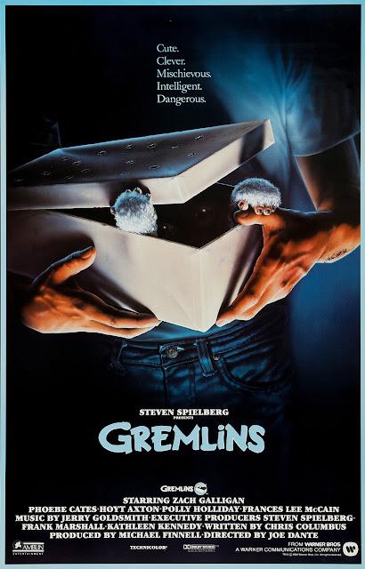 Pôster do filme Gremlins natal