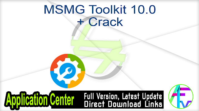MSMG Toolkit 10.0 + Crack