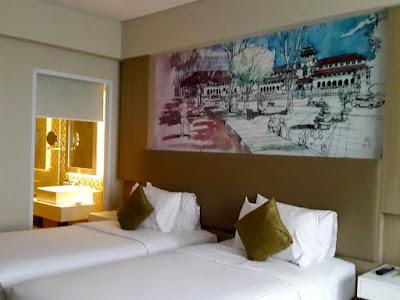3D2N Bandung Trip: Arrived at Hotel Mercure Bandung Setiabudi