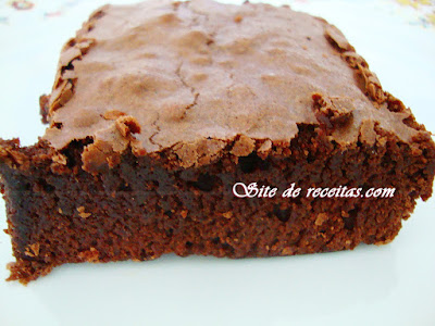 Brownie vegano de chocolate