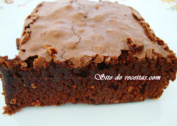 Brownie vegano de chocolate