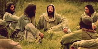 Jesus con sus discípulos