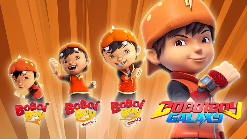 Boboiboy Galaxy Episode 2 Kids Super Heroes