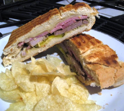 What's for Lunch: Cuban Sandwich