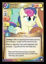 My Little Pony Bon Bon, Particularly Patient Equestrian Odysseys CCG Card