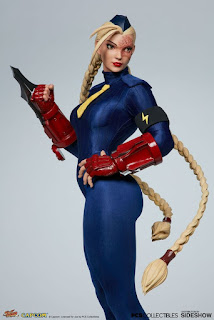 Cammy 1/3 de Street Fighter, en tres versiones - Pop Culture Shock
