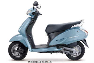 Honda Activa 3G orched blue metallic