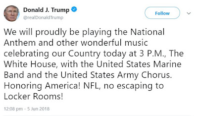 Donald Trump Tweets About The Philadelphia Eagles