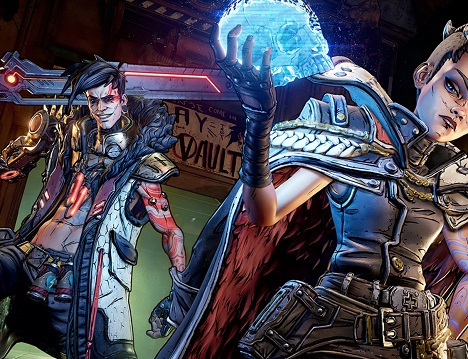 Borderlands 3 Moze the Gunner Gameplay