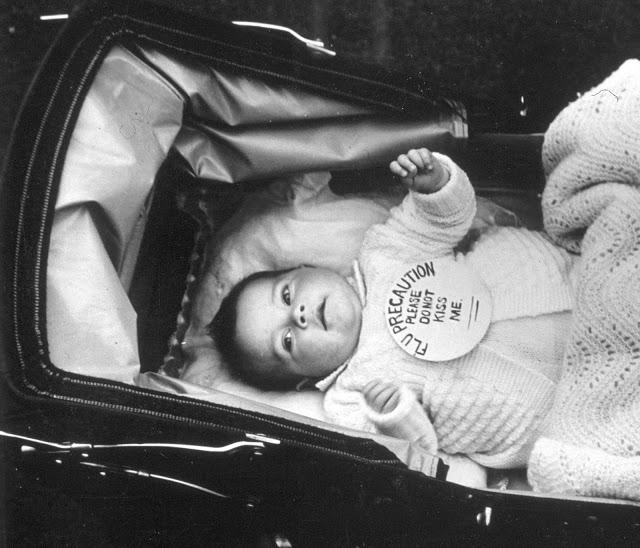 La forma de prevenir la gripe en bebés en los años 30