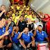 Bupati Berikan Semangat Tim Sepak Bola U-23 Bintan