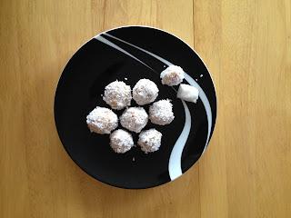 Jaglankowe kulki z kokosem