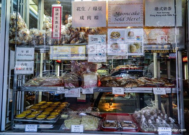 Confeitaria chinesa em Chinatown, Nova York