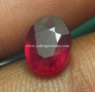 Batu Permata Ruby Pigeon Blood - ZP 419