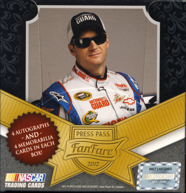All About Cards: 2012 Press Pass FanFare NASCAR Trading