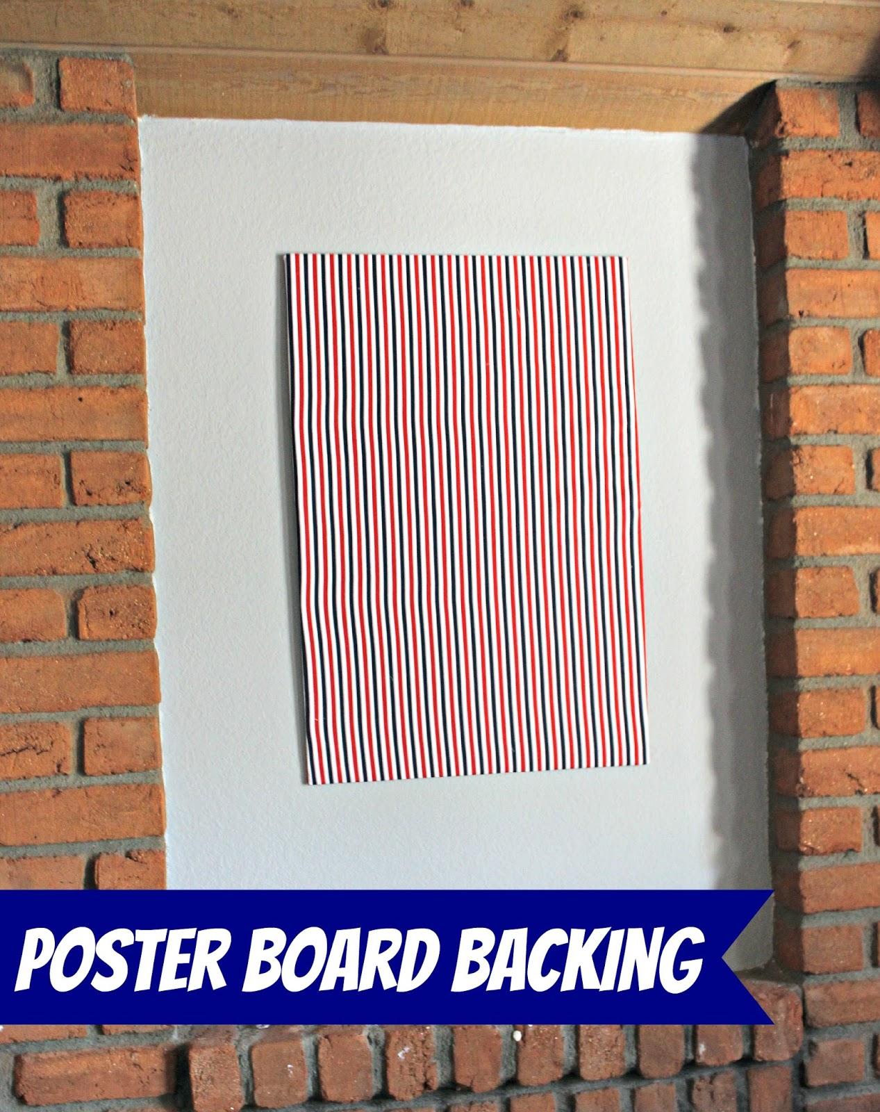 Kutz, Paper, Scissors: Poster Board Backdrop