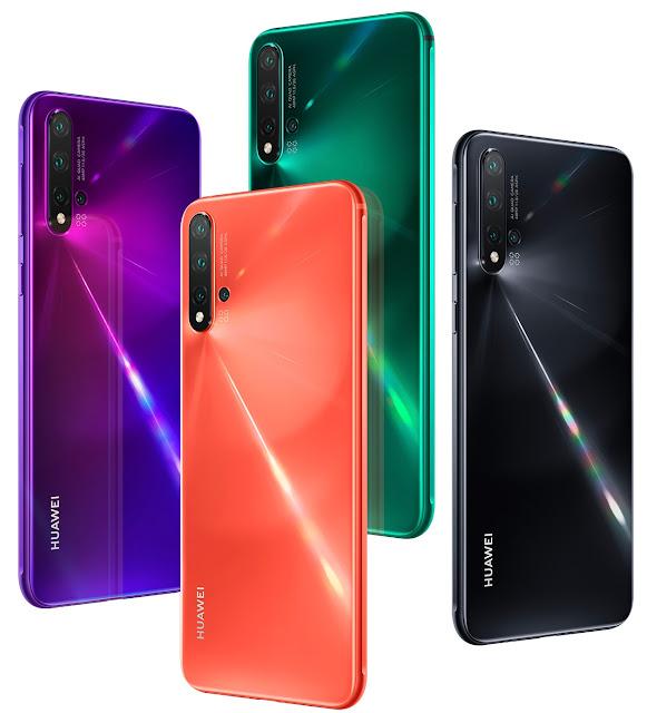 سعر ومواصفات هاتف Huawei Nova 5i الجديد مع كاميرا خلفية 24 ميغابكسل !سعر ومواصفات هاتف Huawei Nova 5i الجديد مع كاميرا خلفية 24 ميغابكسل !