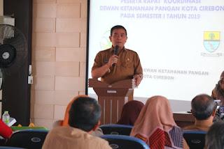 Ketahanan Pangan Kota Cirebon Stabil Di Tahun 2019