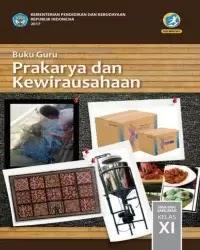 Buku Prakarya Guru Kelas 11 k13 2017