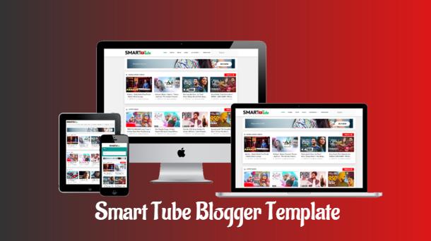Smart Tube Streaming Blogger Template - Responsive Blogger Template