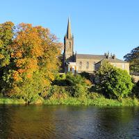 Pictures of Ireland: Church in Sligo Town