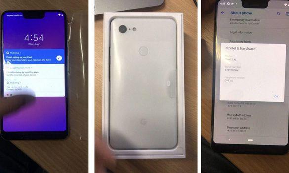 تسريب فيديو للهاتف المنتظر Google Pixel 3 XL