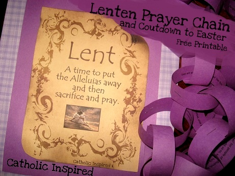 Lent And Easter Crafts And Activities Catholic Inspired