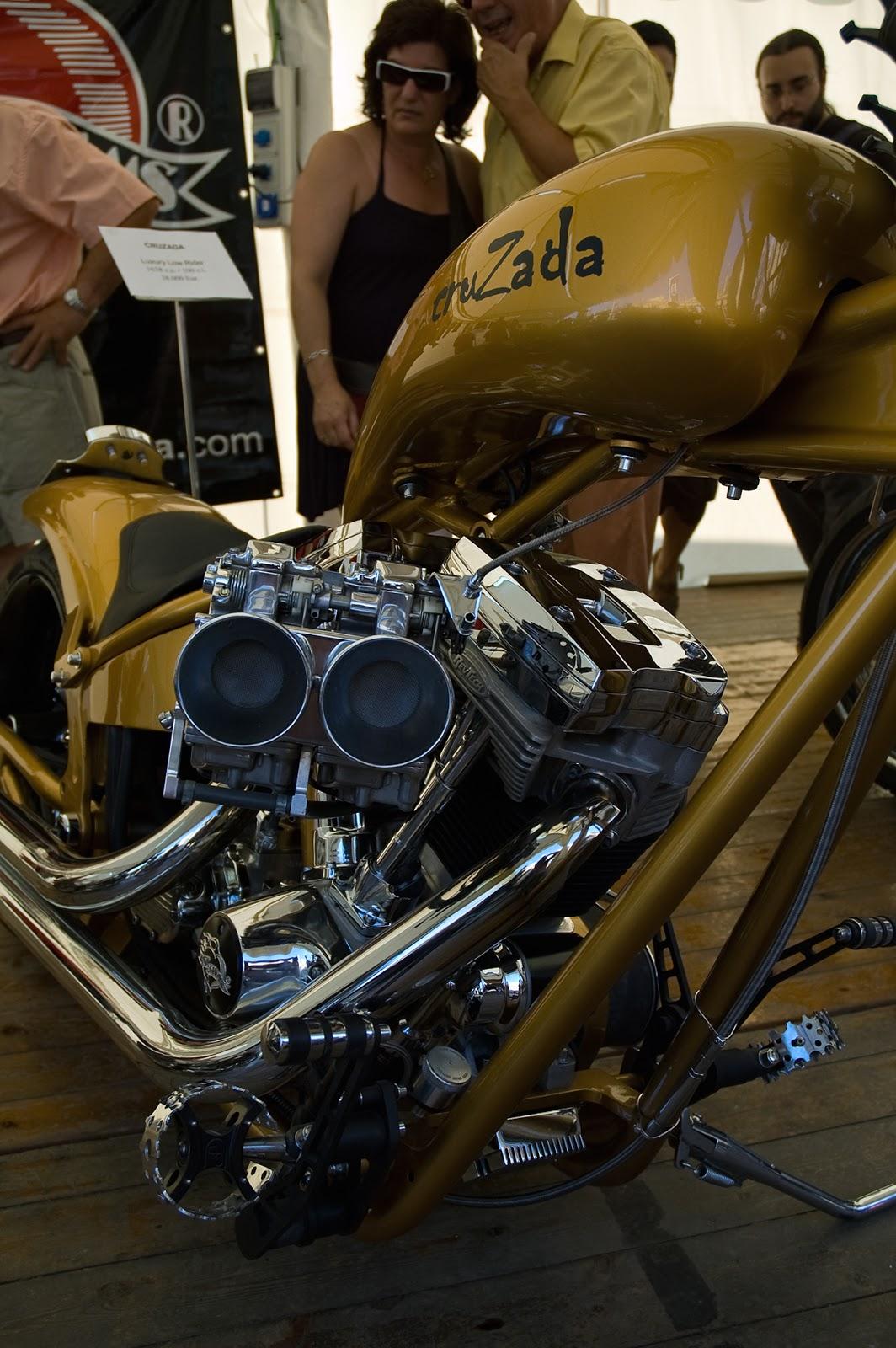 Harley Davidson Chopper Cruzada