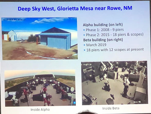 OCA Dave Pearson explains his remote setup at Deep Sky West, NM (Source: Palmia Observatory)