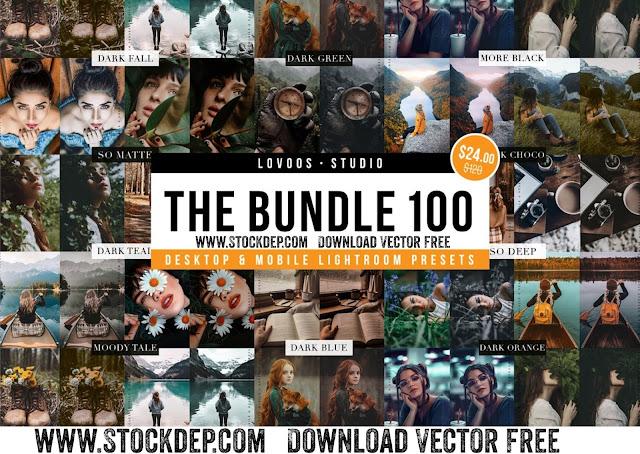 Download free CreativeMarket – THE BUNDLE 100 – Lightroom Presets 6133635