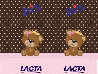 Etiquetas de Osita Princesa para imprimir gratis.