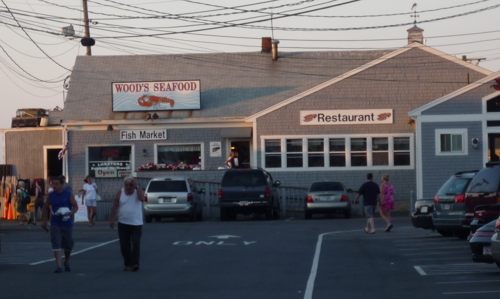 Woods Seafood Plymouth M Photo By Eric