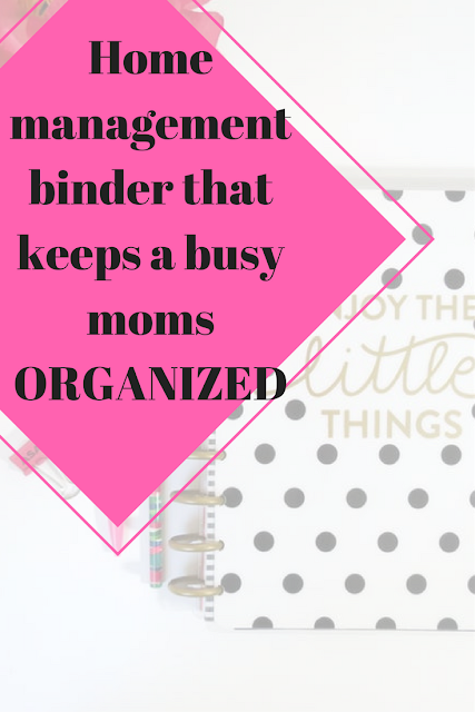 home binder for moms