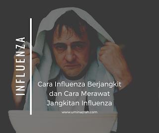 Cara Influenza Berjangkit dan Cara Merawat Jangkitan Influenza
