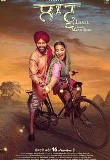 Laatu next upcoming punjabi movie first look, Poster of download first look Ammy, Aditi Poster, release date
